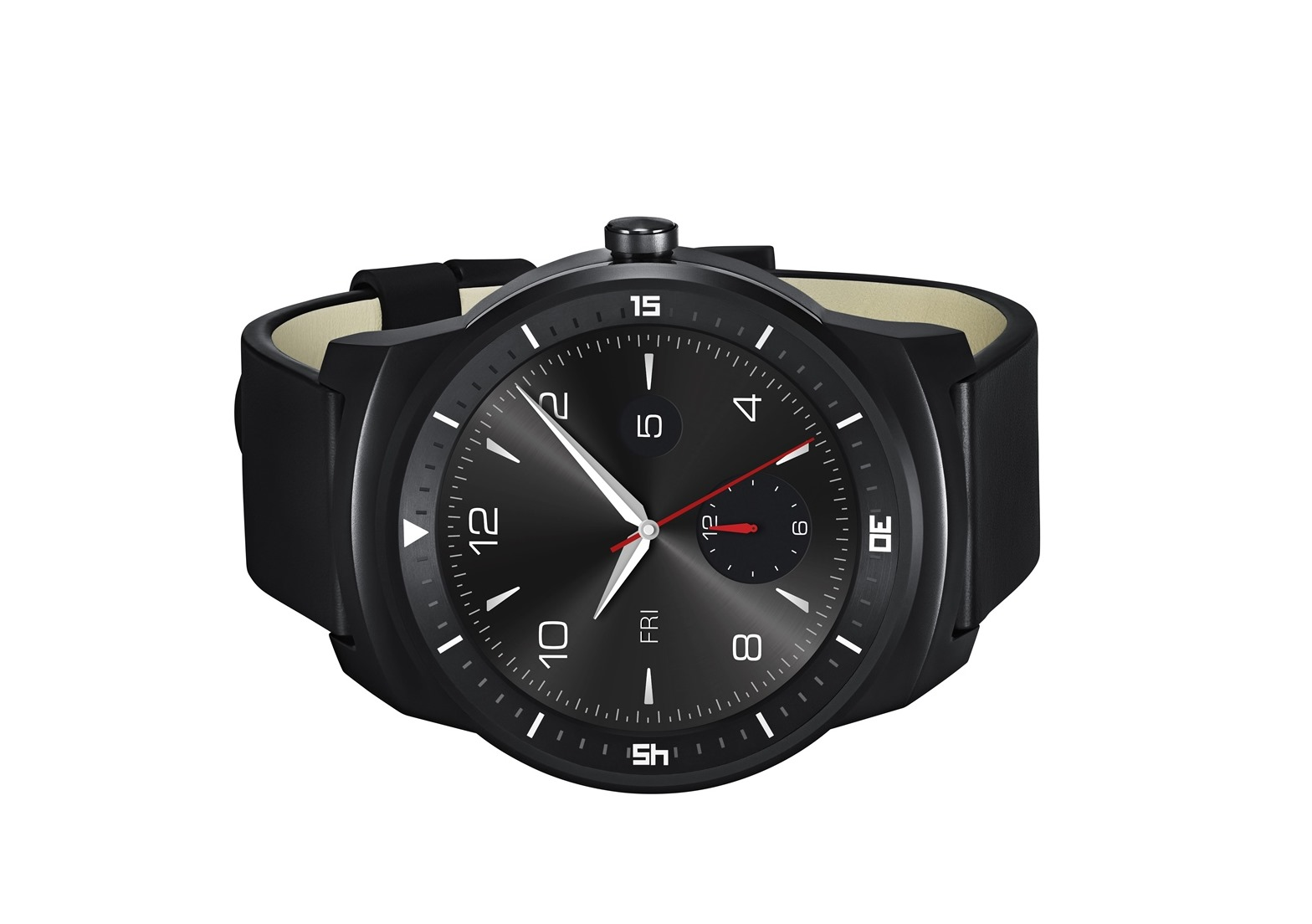 LG Officially Announces The G Watch R: Same Guts, New 1.3 ...