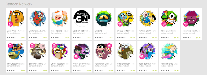 play store cartoon network
