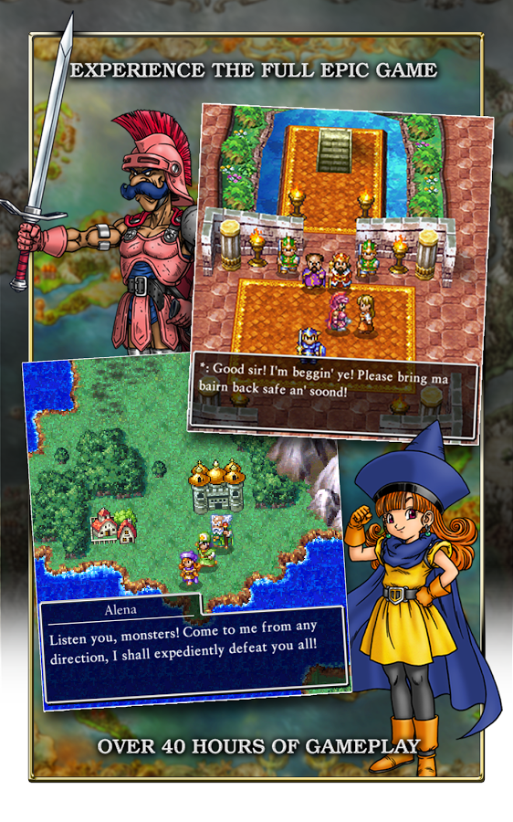 New Game] Square Enix Has Dragon Quest IV Behind The Counter