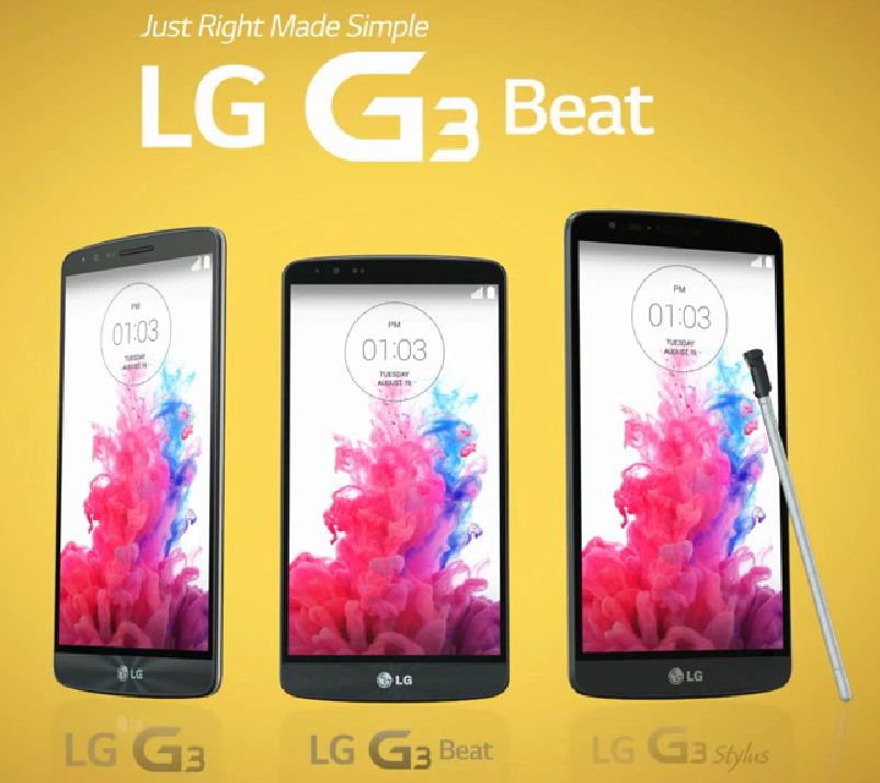 LG Slips The Unannounced G3 Stylus A Probable Galaxy Note