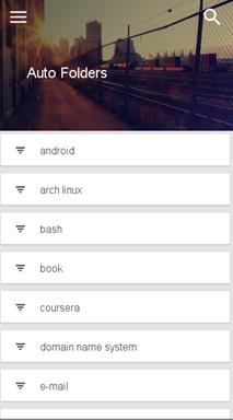 google-stars-mobile-auto-folders