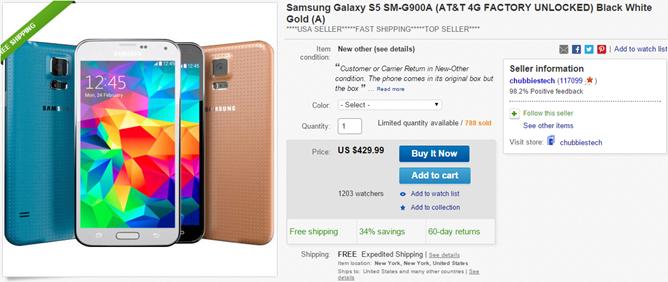 2014-09-23 12_37_52-Samsung Galaxy S5 SM G900A at T 4G Factory Unlocked Black White Gold A _ eBay