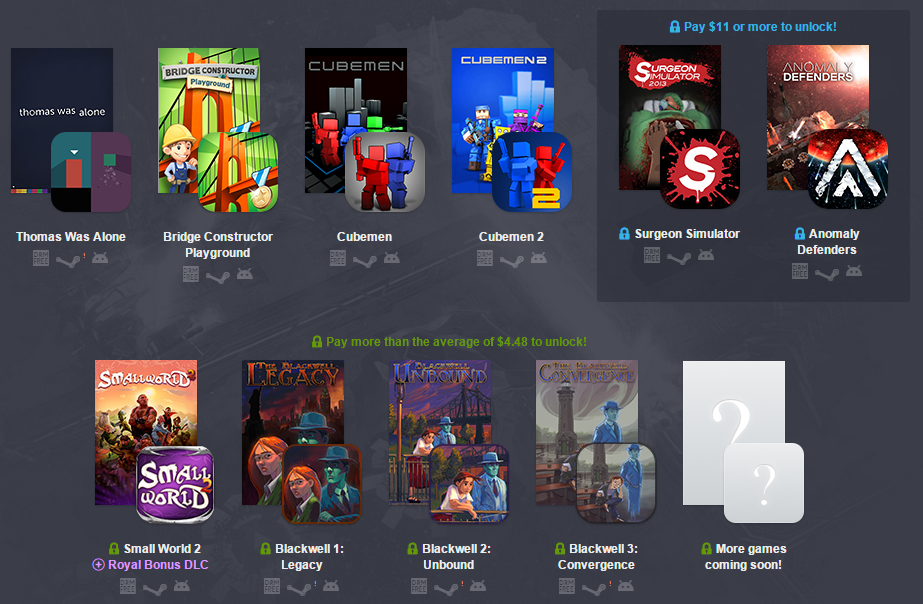 Humble Bundle For PC And Android 11 Includes Anomaly Defenders ...
