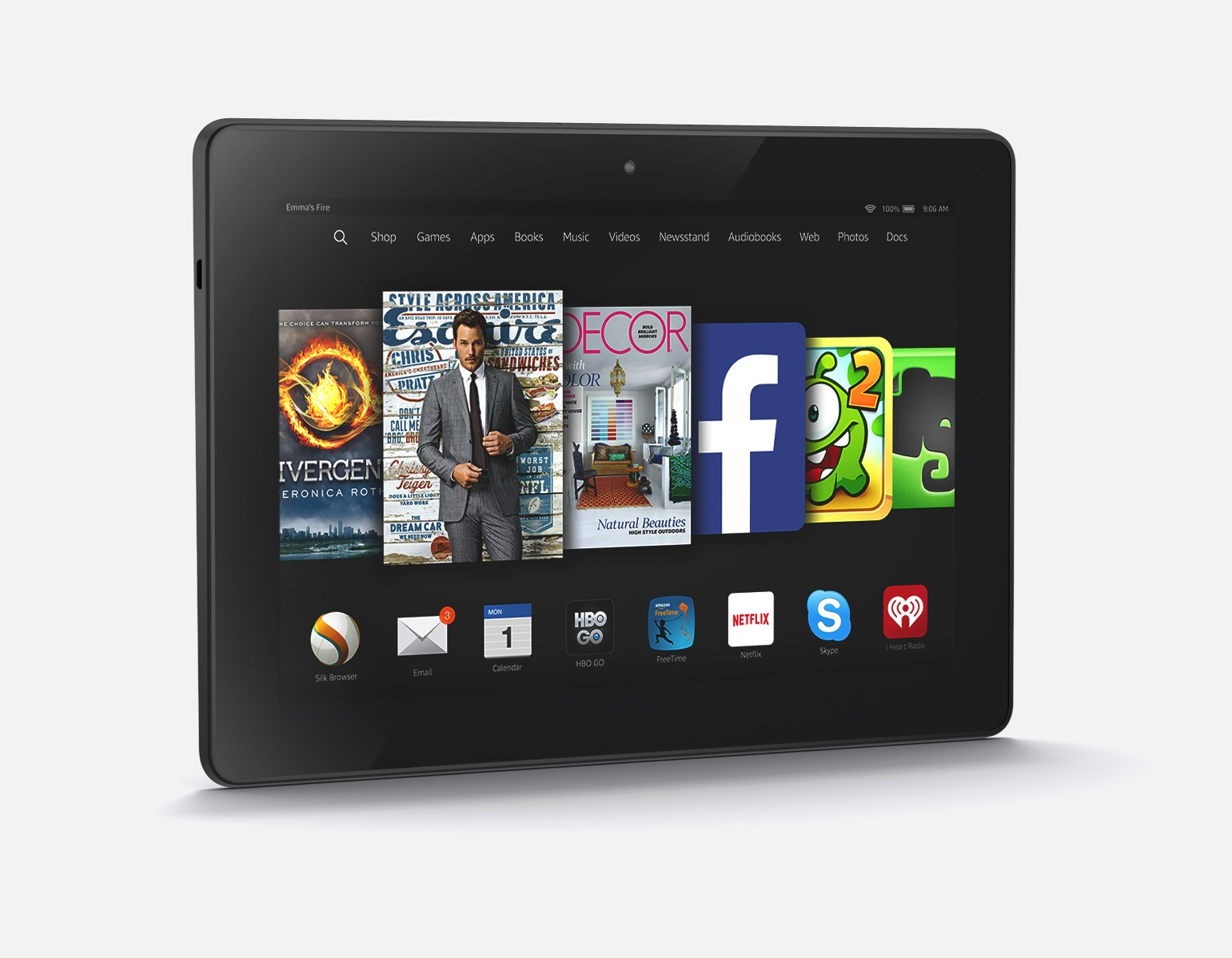 kindle fire hd To access zinio through your kindle fire hd ensure you follow the instructions  below from your kindle fire hd device go to settings.