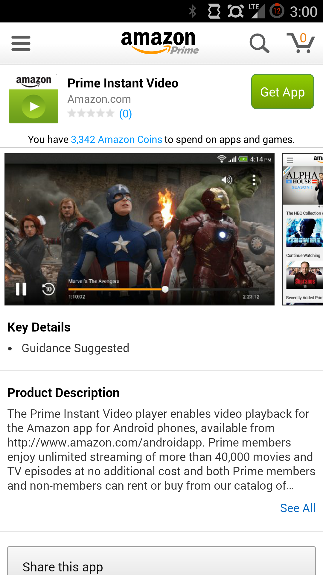 Amazon Updates Its App To 5 0 With Instant Video Streaming App