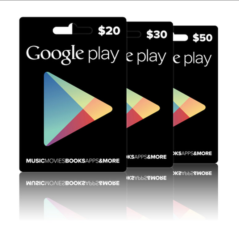 Google Play Gift Cards Now Hitting Store Shelves In New