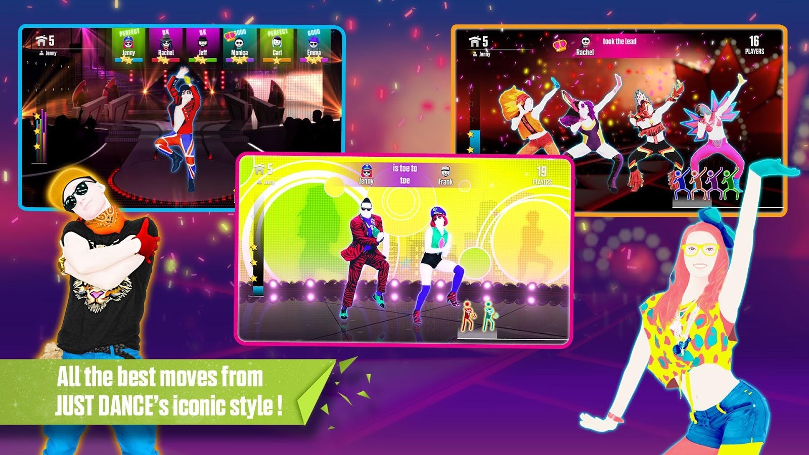 Ubisoft releases just dance now in the play store uses your phone as