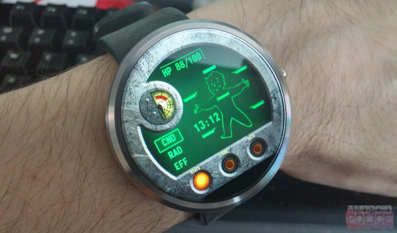 Is Fast Becoming The De Facto Custom Watch Face Maker For Android WearPebble Watch Faces Fallout