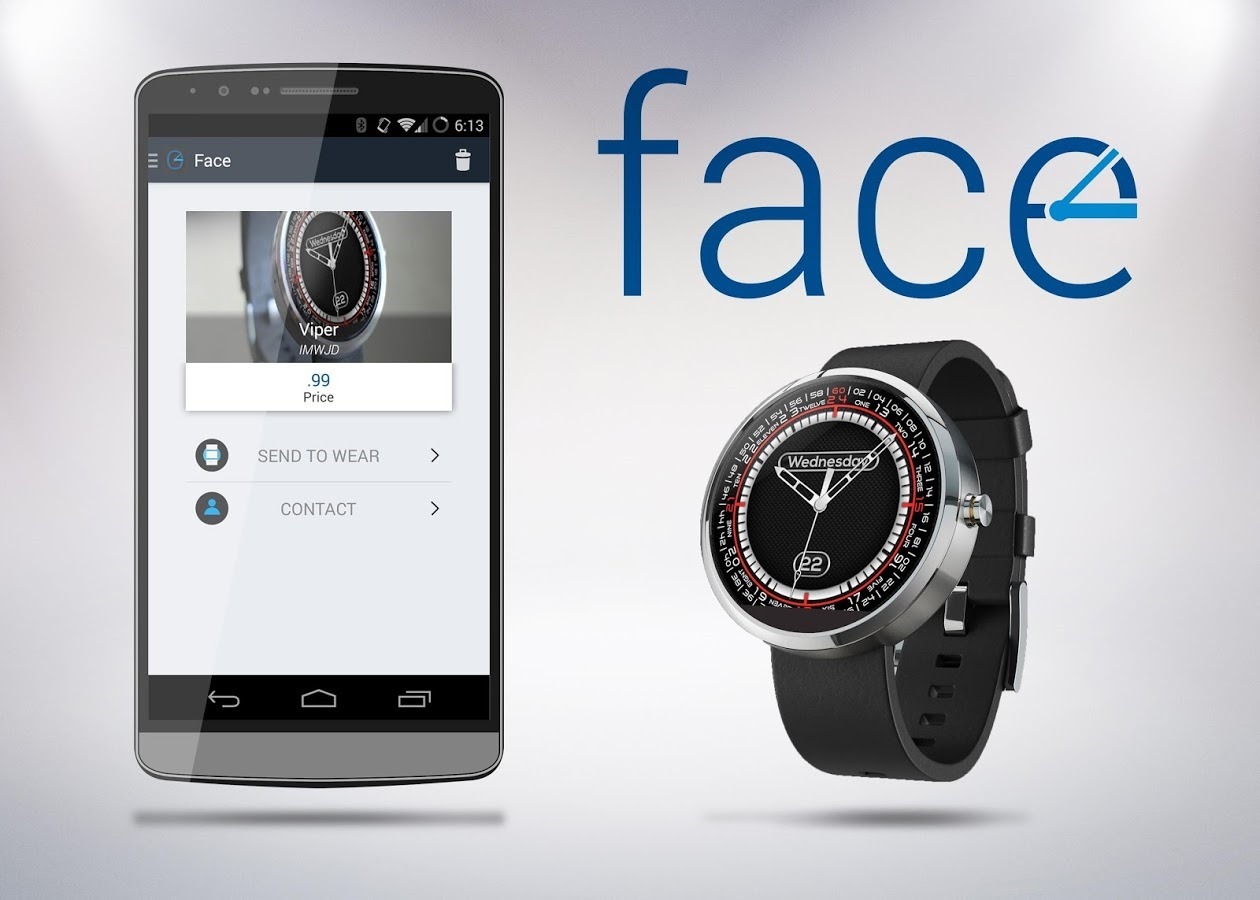 Facer android wear - 1