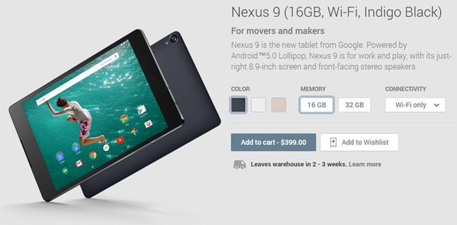 2014-10-17 13_20_54-Nexus 9 (16GB, Wi-Fi, Indigo Black) - Devices on Google Play