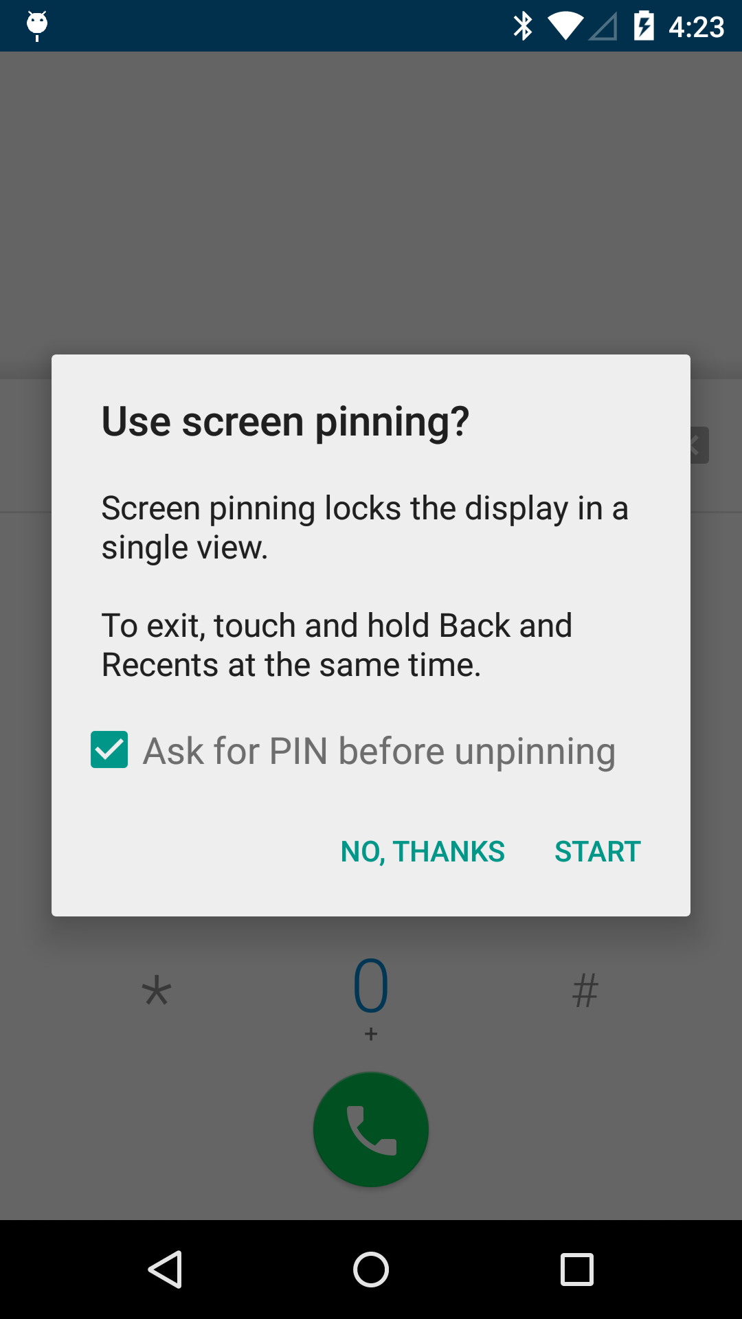 [Lollipop Feature Spotlight] Screen Pinning Allows You To Lock Your Device To A Single App Before Handing It To A Friend (Or A Kid)