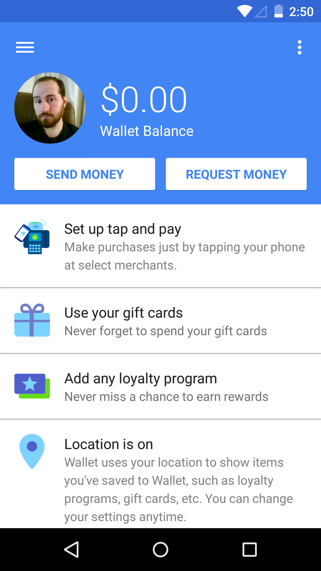 APK Download] Google Wallet Updated From v2 All The Way To v7 With A
