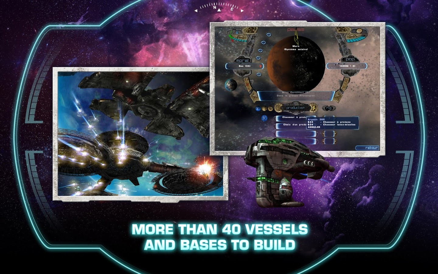 Classic 3d Space Strategy Game Haegemonia Legions Of Iron Comes