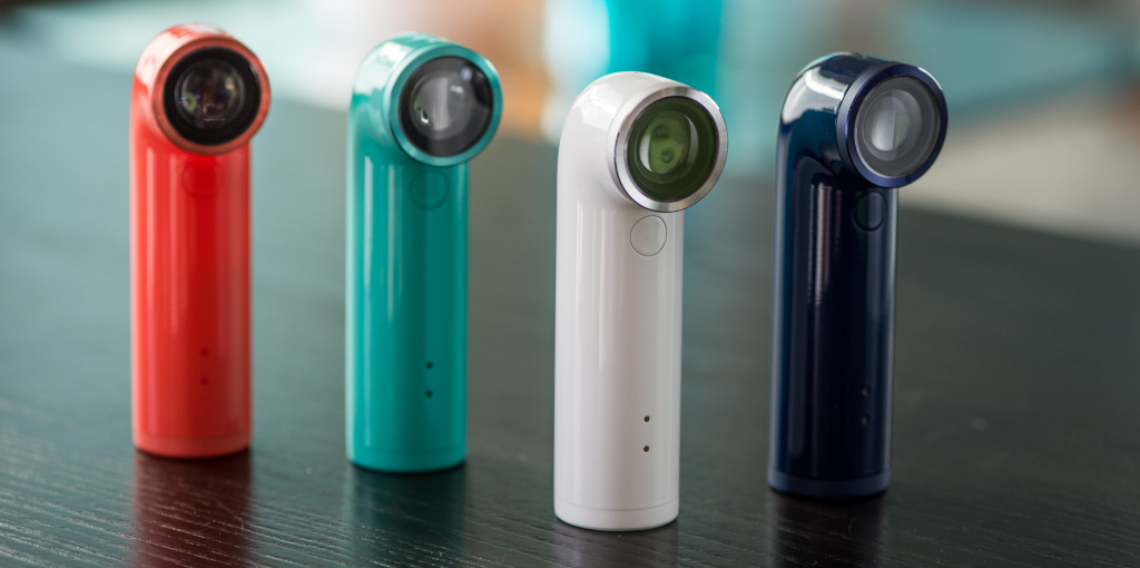 HTC Announces Its Mobile Sports Camera, the 'HTC RE,' With WiFi, Bluetooth, And A 16MP Sensor