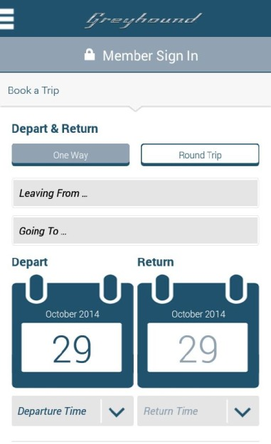 Official Greyhound Lines Android App Arrives At The Google ...