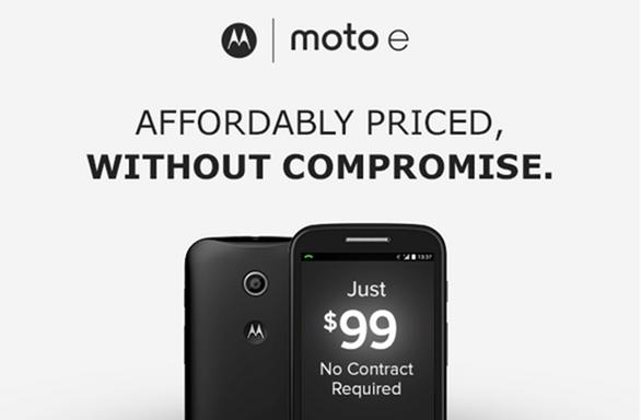 Moto E Announce