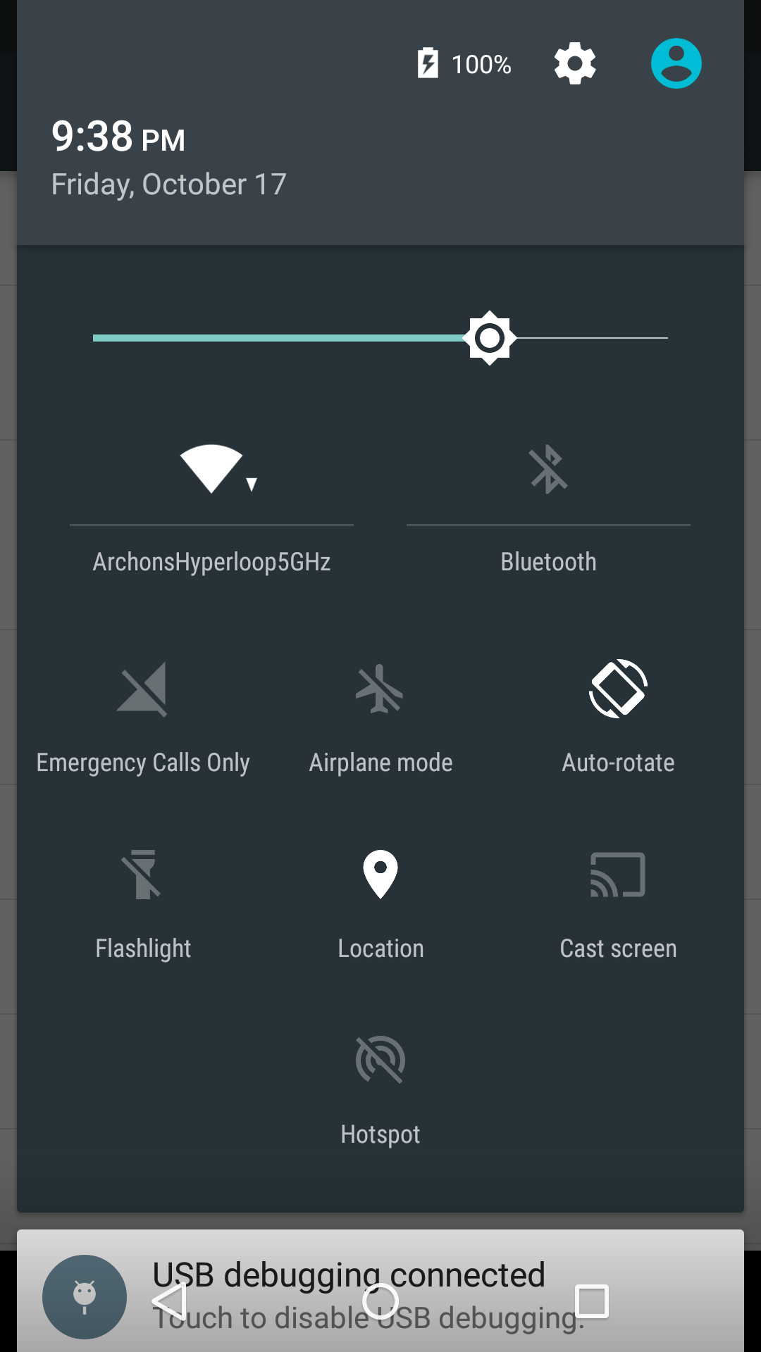 how to show battery percentage on moto g