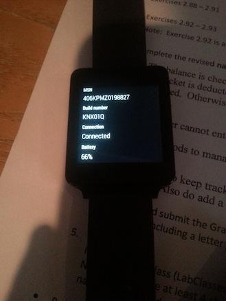 Nueva actualización de Android Wear a los LG G Watch
