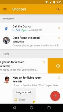 inbox by gmail davet