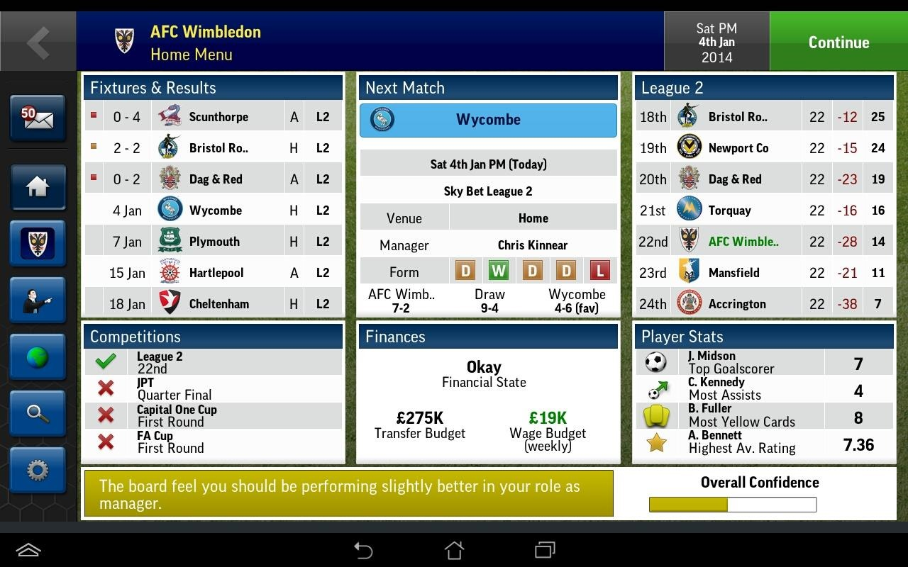 football manager handheld 2014 android release date