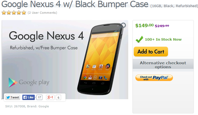 2014-11-11 12_53_44-Google Nexus 4 w_ Black Bumper Case (16GB, Black, Refurbished) #LGE960.AUSGBK-RA