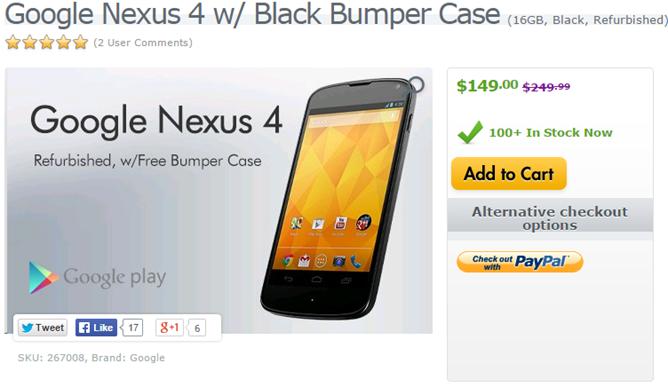 2014-11-11 12_53_44-Google Nexus 4 w_ Black Bumper Case (16GB, Black, Refurbished) #LGE960.AUSGBK-RA