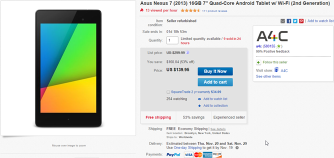 2014-11-17 15_07_06-Asus Nexus 7 2013 16GB 7_ Quad Core Android Tablet w Wi Fi 2nd Generation 886227