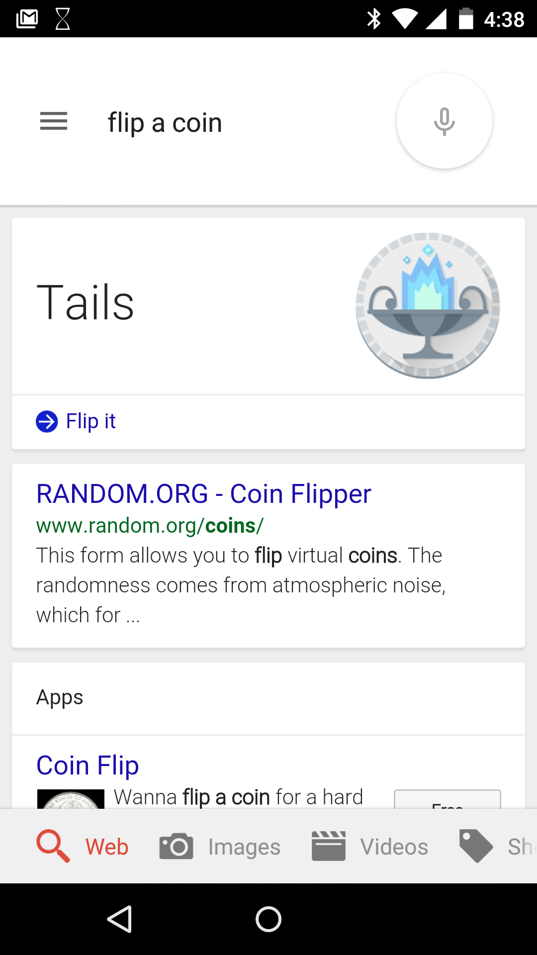 You Can Now Ask Google Search To Flip A Coin Or Roll A Die