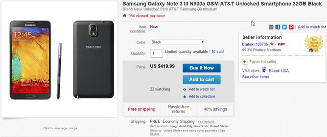 2014-11-19 12_15_14-Samsung Galaxy Note 3 III N900A GSM at T Unlocked Smartphone 32GB Black _ eBay