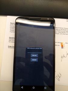 Nexus 6 SIM Unlock
