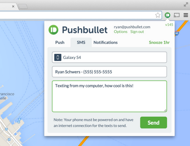 Latest Pushbullet Update Now Lets You Initiate Texts From ...