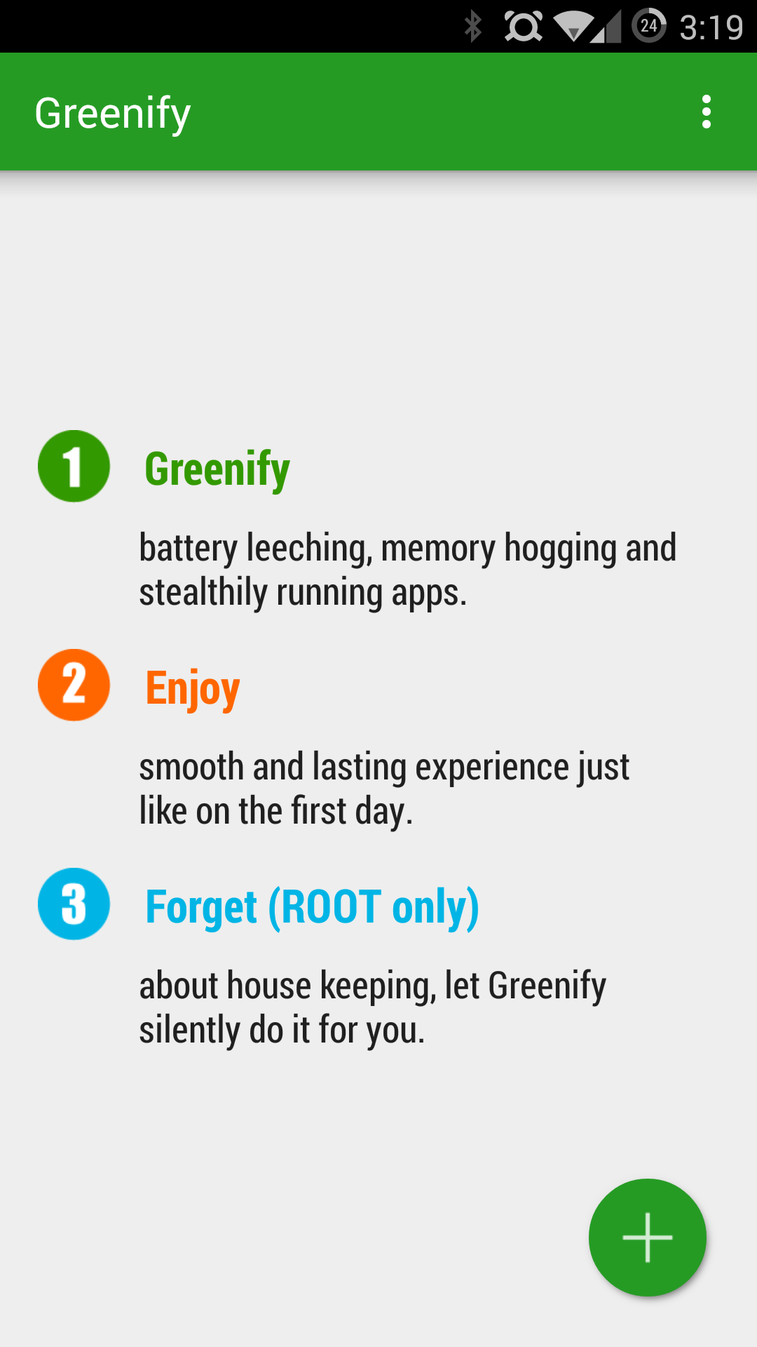 Greenify Updated With Lollipop Support, Material Design, And More