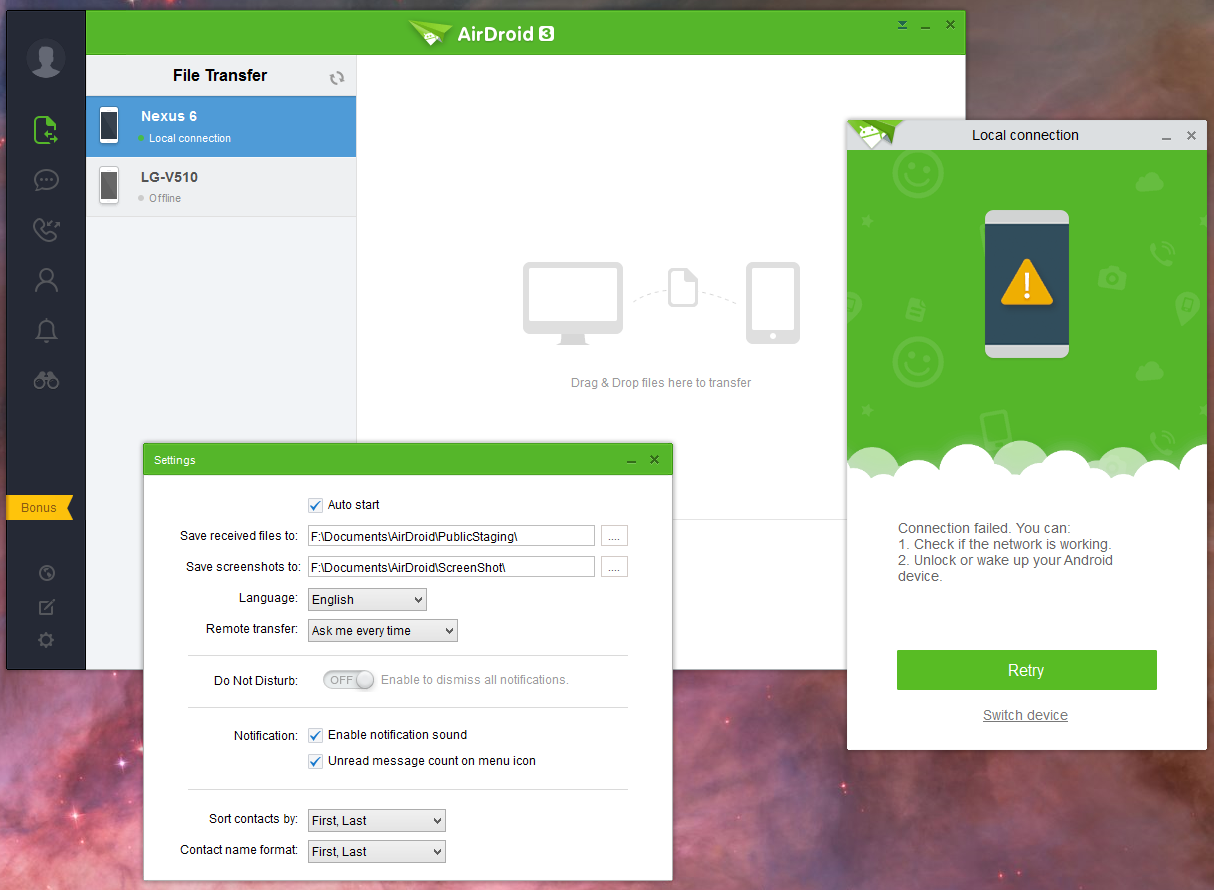 airdroid windows