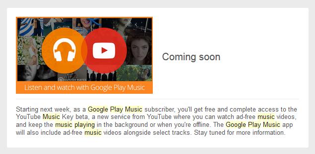 GPMAA Youtube music key