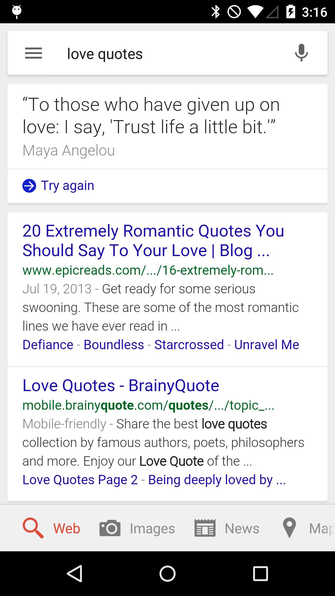 ... Ok Google Love Quote 5 ...