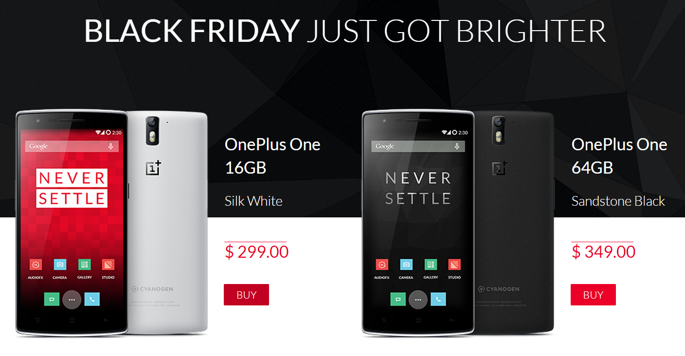 The OnePlus Black Friday Deal Lets You Buy A One Phone ...