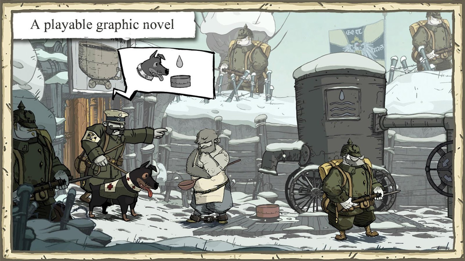 Ubisoft Publishes WWI Drama Game Valiant Hearts: The Great War For Android And Android TV