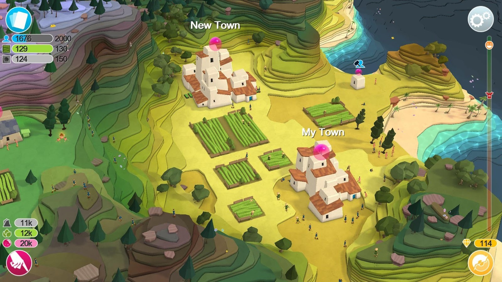 Play As A Benevolent Creator In Peter Molyneux's Godus, Now Available For Android