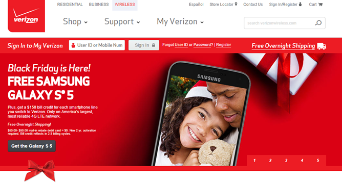 [Deal Alert] Verizon's Black Friday Deal Offers $100 Off ...