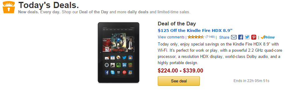 Amazonin Todays Deals Great Savings Every Day
