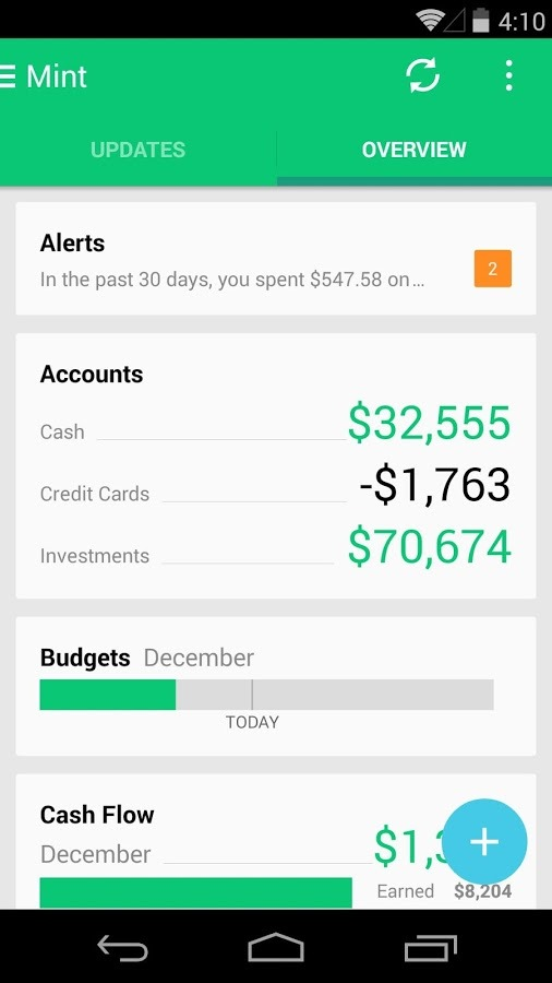 Mint App Gets Yet Another Redesign With Some Material