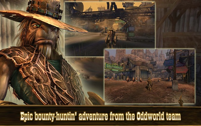 [Update: Now On The Play Store!] Console Classic Oddworld: Stranger's Wrath Comes To Android As An Amazon Exclusive (For Now)
