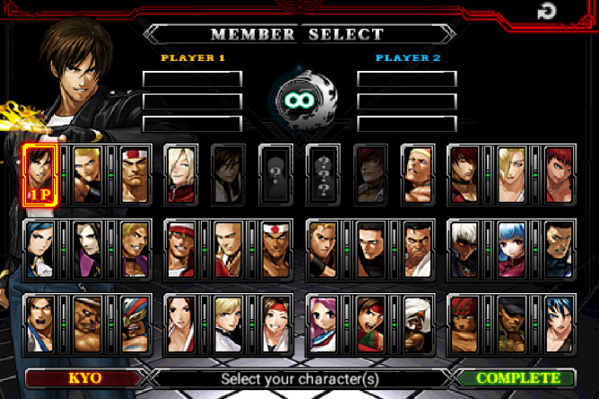 SNK Re-Releases The King Of Fighters 2012 For Free To Celebrate The Series' 20th Anniversary