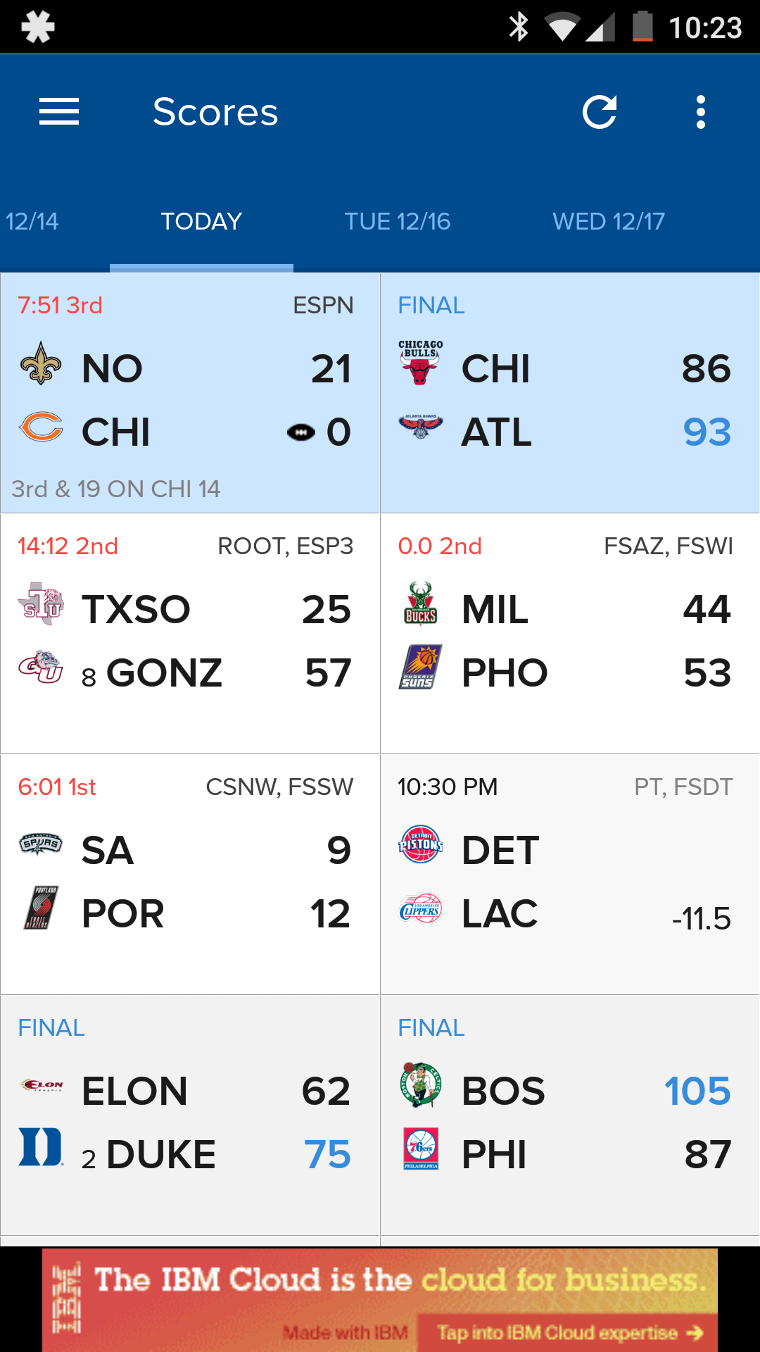 CBS Sports App Gets Material UI, Real-Time Basketball