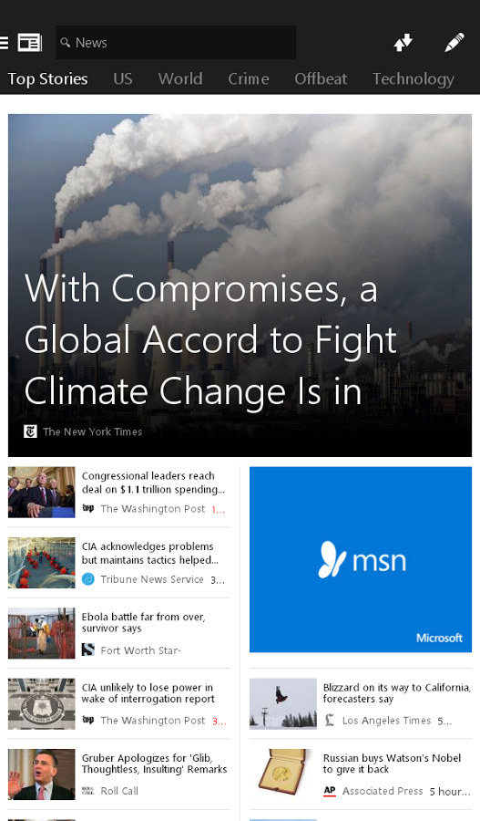 microsoft releases 6 new android apps for msn food drink health