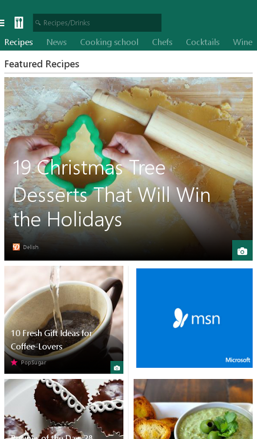 Microsoft Releases 6 New Android Apps For MSN: Food & Drink, Health