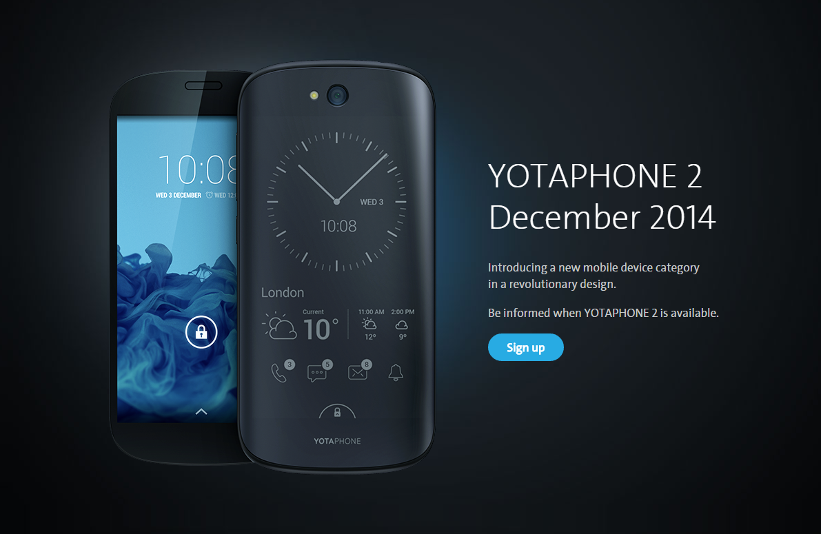 After 10 Months, The YotaPhone 2 Gets A Launch Date ...