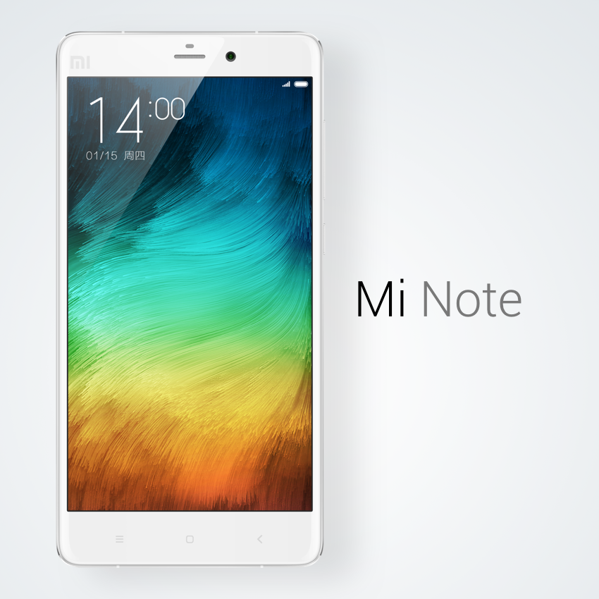 [Update: Mi Note Pro, Mi Box Mini, And Headphones Too] Xiaomi Announces The Mi Note With A 5.7-Inch 1080p LCD, 3000mAh Battery, Snapdragon 801, And More