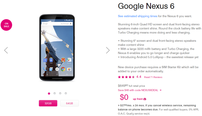 2015-01-28 01_02_20-Google Nexus 6 Smartphone Phablet _ Nexus 6 Reviews & Specs _ T-Mobile