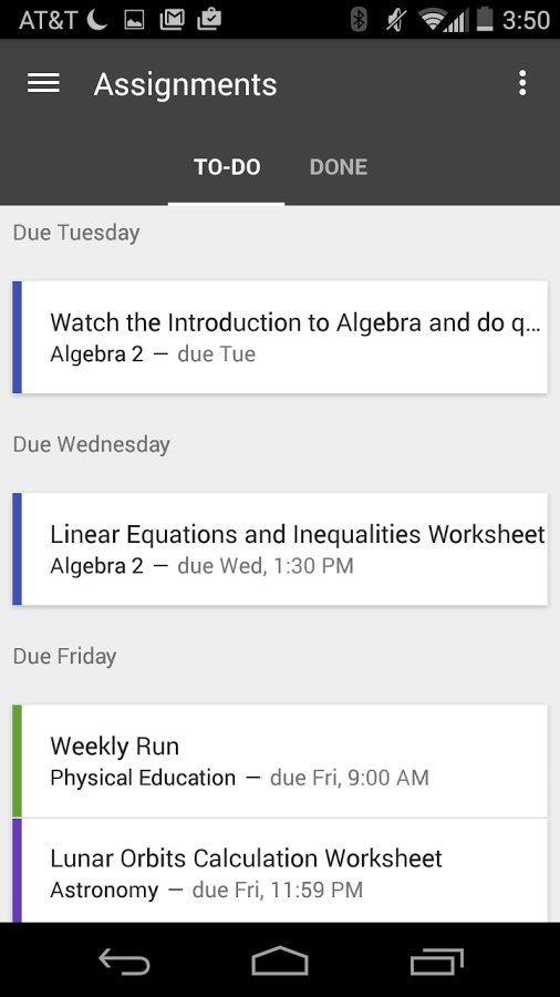 Google classroom app comes to the play store to help teachers and features that help one end of the chain also benefit the other teachers can easily make copies of documents which then makes it easier for each student to fandeluxe Choice Image